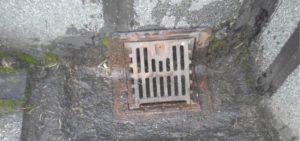 屋上・陸屋根の排水溝の劣化