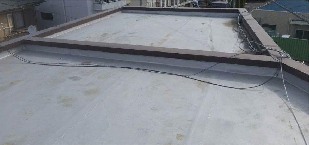 屋上・陸屋根の防水層の劣化