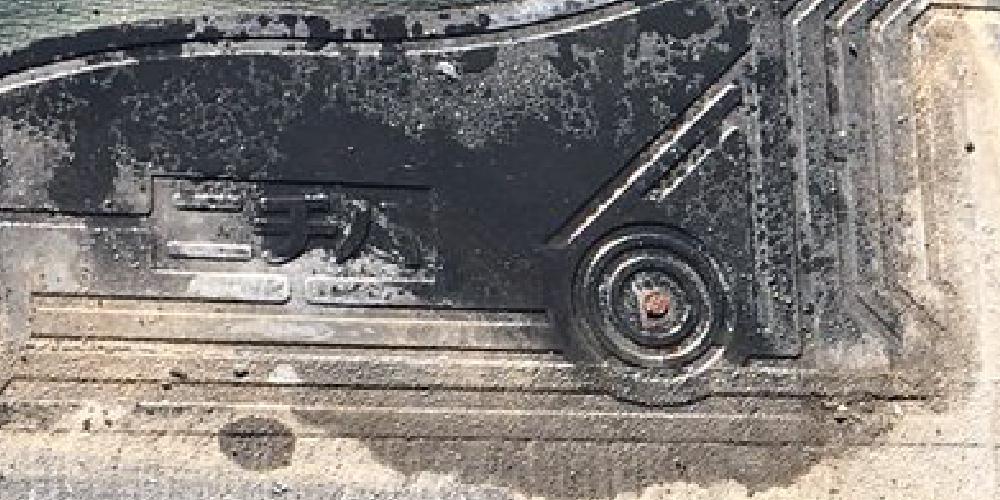 パミールのラスパート釘の腐食