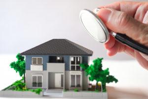 診断される住宅の写真