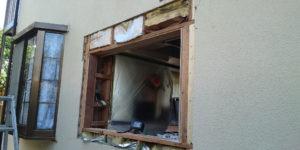 サッシの雨漏り修理の写真