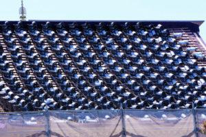 屋根瓦の葺き替え工事の写真