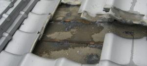 屋根瓦の雨漏り