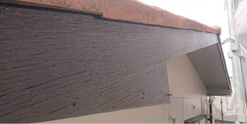 木材系の破風板